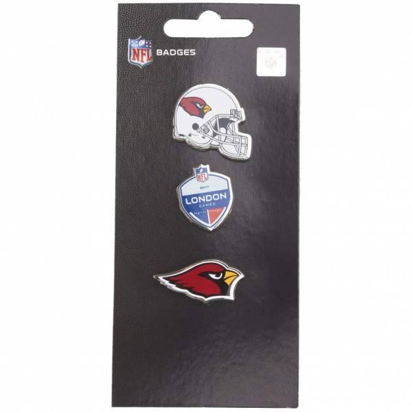 Cardinals de l'Arizona NFL Pins métalliques Ensemble de 3 BDNF3HELAC