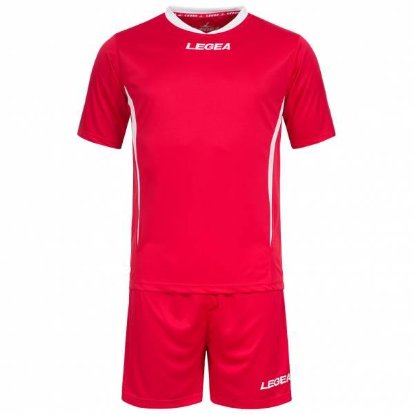 Legea Fußball Set Trikot mit Short rot