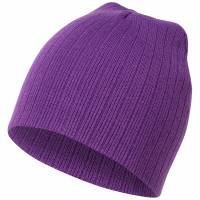 MSTRDS Fisherman Regular Knit Beanie 10057 Purple