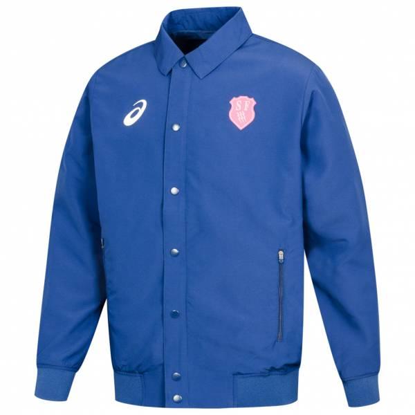Stade Francais ASICS Rugby Herren Präsentations Jacke 134837-8029