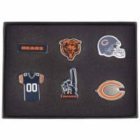 Chicago Bears NFL Metall Pin Anstecker 6er-Set BDNFL6SETCB