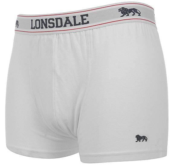 Lonsdale Boxershorts 2 St. weiß ohne Eingriff