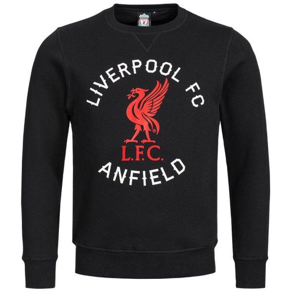 Liverpool FC Majestic Anfield Road Crew Sweatshirt