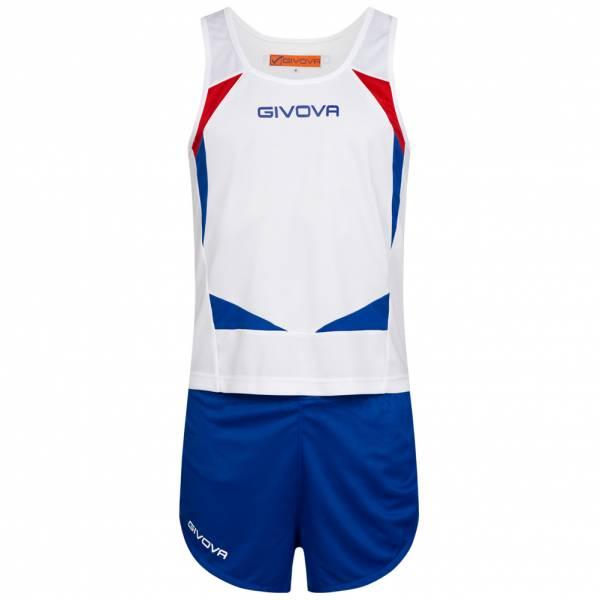 Givova Kit Sparta Leichtathletik Set Singlet + Short KITA05-0302