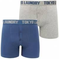 Tokyo Laundry Irving Herren 2er Pack Boxershorts 1P9766R