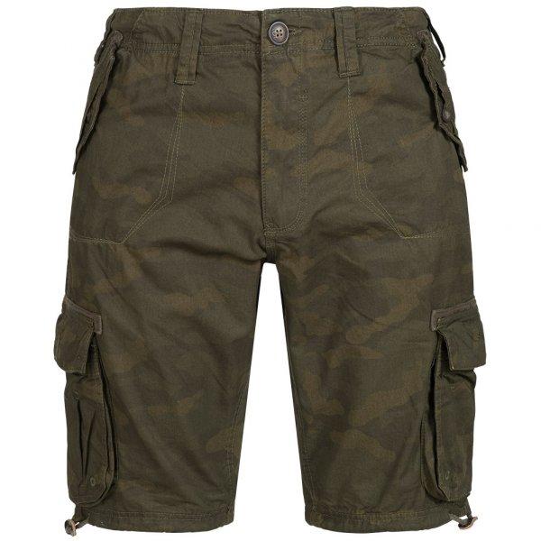 Herren BRAVE SOUL George Herren Cargo Shorts MSRT-GEORGECAMO Khaki Camo |05054072193134