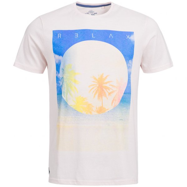 Sth. Shore Diskpalm Herren T-Shirt 1C9188 Barley Pink