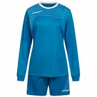 Uhlsport Match Damen Fußball Set Langarm Trikot mit Shorts 100316910
