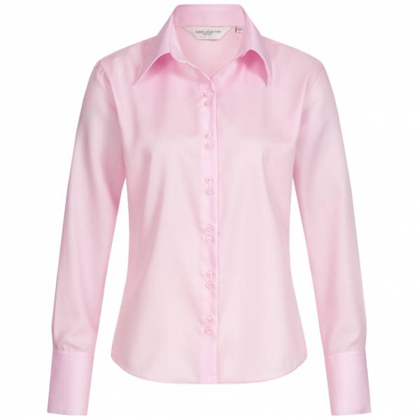 RUSSELL Longsleeve Ultimate Non-iron Femmes Chemisier 0R956F0-Classique-Rose