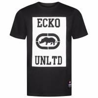 Ecko Unltd. Square Logo Tee Herren T-Shirt ESK4371 Black