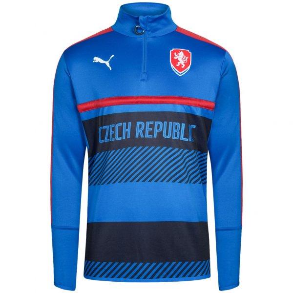 Tschechien PUMA Herren 1/4 Zip Training Sweatshirt 748755-02
