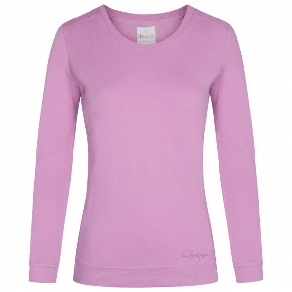 Champion Crewneck Damen Langarm Shirt 105747-3555