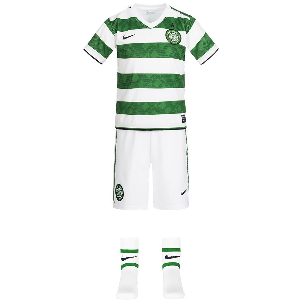 pretty nice 21ece ef73c Celtic FC Nike Jersey Set Baby Mini Kit 381839-378