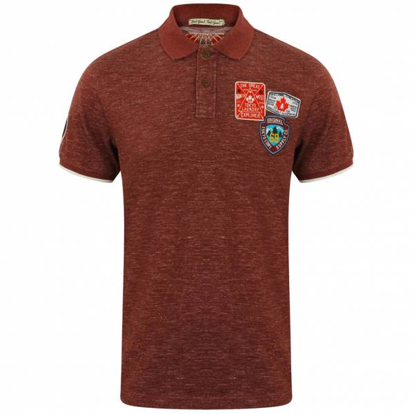 Polo Tokyo Laundry Beauworth pour hommes 1X9936 Oxblood