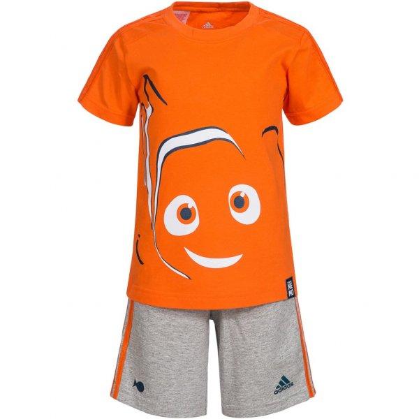 adidas Disney Findet Nemo Sommer Kleinkinder Set Shirt + Shorts 2 teilig AK2548