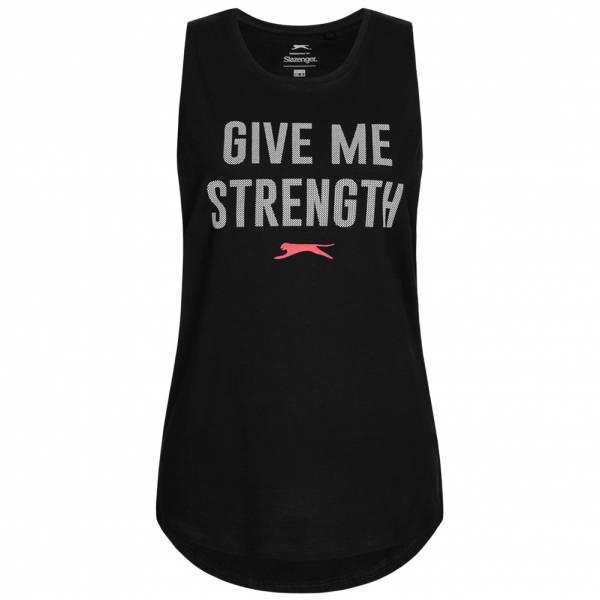 Slazenger Kayla Damen Ärmelloses Fitness Shirt S047817A-BLK