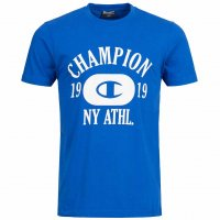 Champion Crew Neck Tee Herren T-Shirt blau