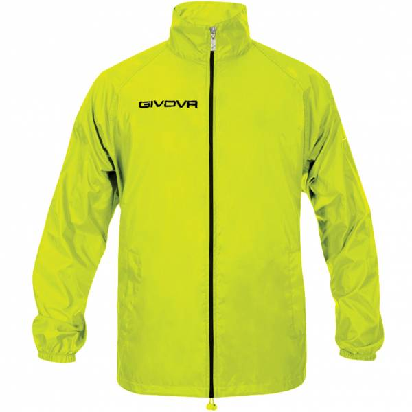 "Givova Rain Jacket ""Rain Basico"" neon yellow"