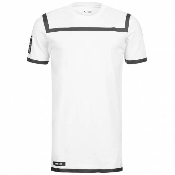 PUMA x UEG Tee Herren Designer T-Shirt 571713-02