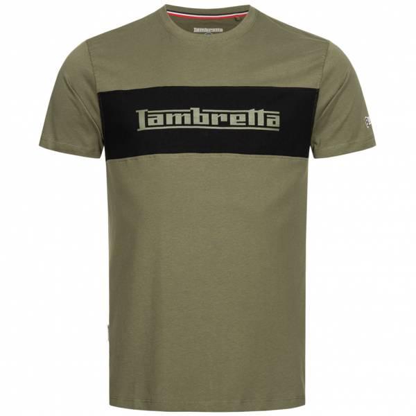 Lambretta Panel Logo Herren T-Shirt SS8294-KHAKI
