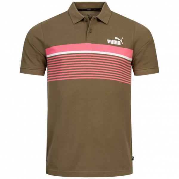 PUMA Essentials+ Stripe Herren Polo-Shirt 854259-49