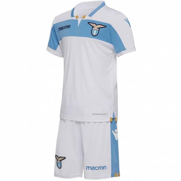 Lazio Rom macron Auswärts Kinder Trikot Set 58023828