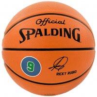 Spalding Player Ball Ricky Rubio Basketball 3001586011017