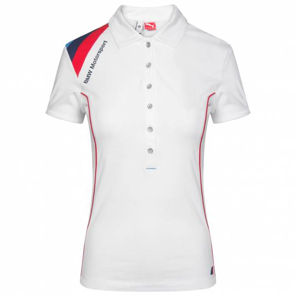 Damen PUMA x BMW Motorsport Damen Polo-Shirt 761215-02 weiß|04051907209863