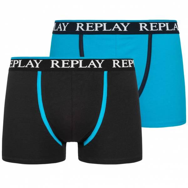 REPLAY Boxer Herren Boxershorts 2er-Pack 101109-N090