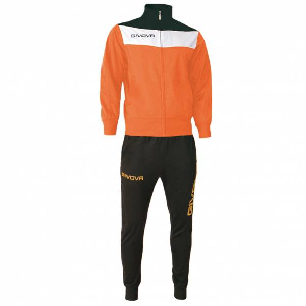 Givova Tuta Campo Trainingsanzug orange/schwarz