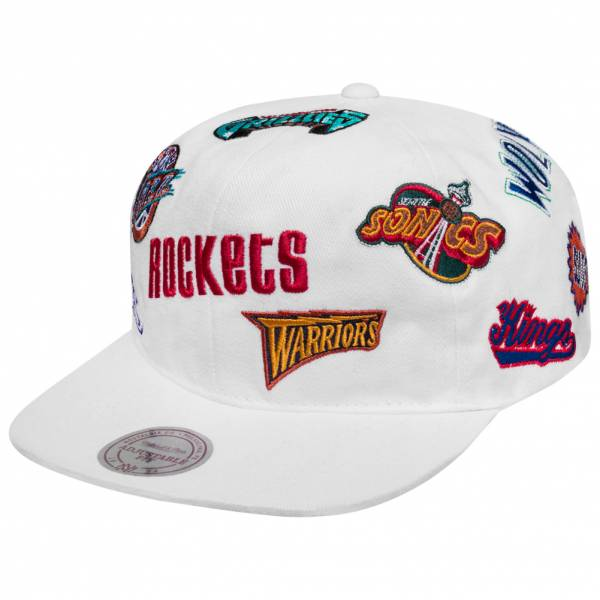 Mitchell & Ness All-Over Western Conference Teams Pet 6LUSNG18366-NBAWHIT