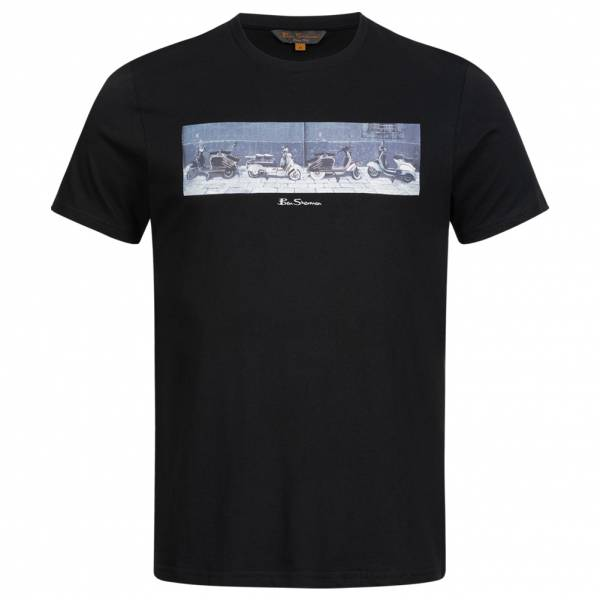 BEN SHERMAN Graphic Uomo T-shirt 0060999-290 Nero