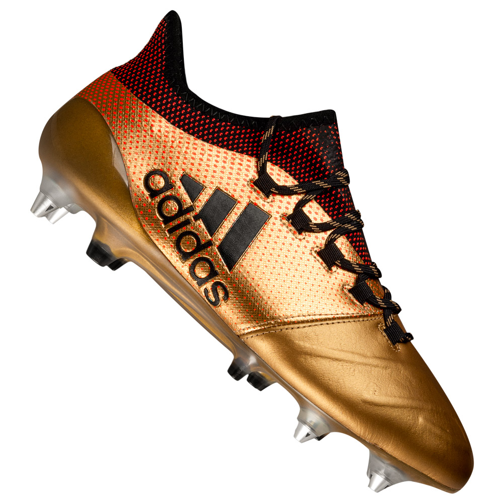 adidas X 17.1 SG Leather Uomo Professional Scarpe da calcio CP9179