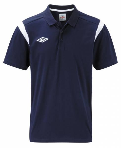 Umbro Cotton Polo-Shirt navy/weiß