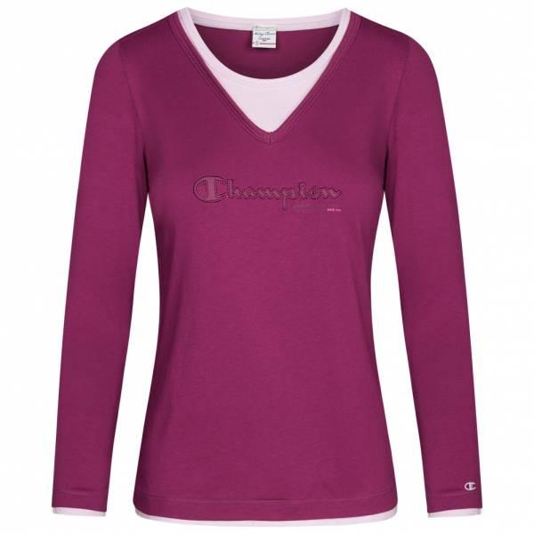Champion Crewneck Damen Langarm Shirt 105822-3305