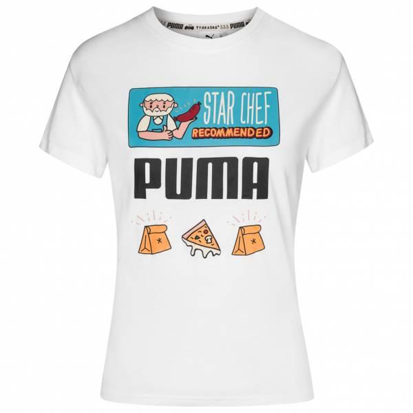 PUMA x TYAKASHA Graphic Tee Damen T-Shirt 578430-02