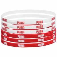 PUMA 6er-Pack Sport Haarbänder 050972-01
