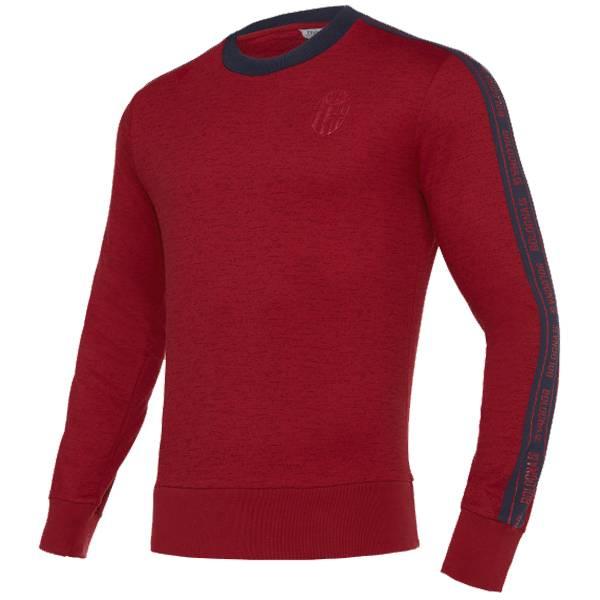 FC Bologna macron Herren Freizeit Sweatshirt 58109640