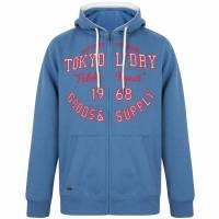 Tokyo Laundry Harper  Hombre Sudadera con capucha 1E12508 Azul Federal