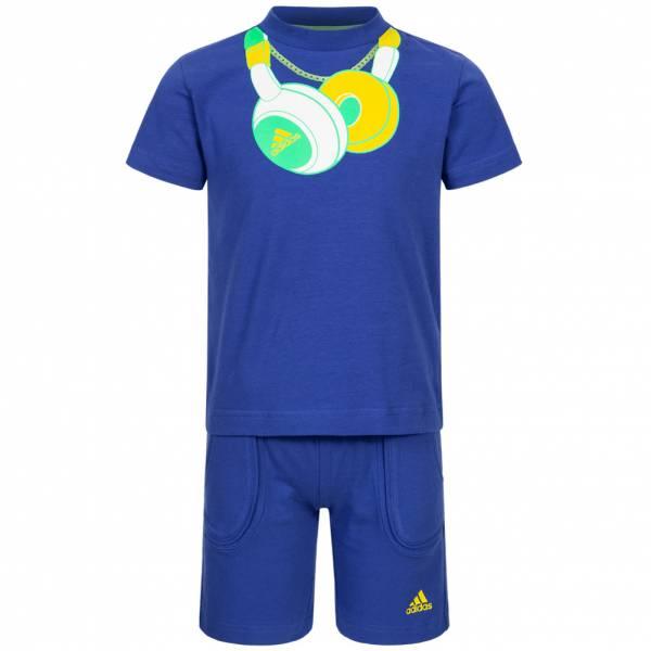 adidas Headphone Baby Sommer Set Shirt + Shorts P06513
