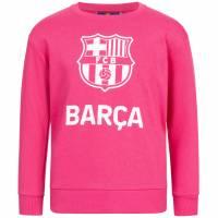 FC Barcelona Team Crest Mädchen Sweatshirt FCB-2-051