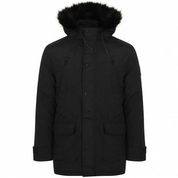 Tokyo Laundry Lenart Fur Trim Hooded Parka Jacket Herren Jacke 1J11547B