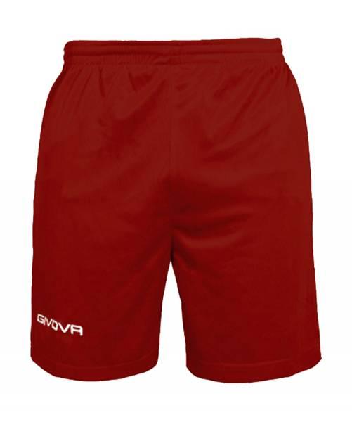 Givova Fussball Short Ibiza dunkelrot