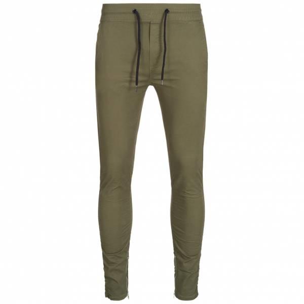 BRAVE SOUL Squad Cotton Twill Skinny Leg Herren Chino Hose MTR-SQUADPKB Khaki