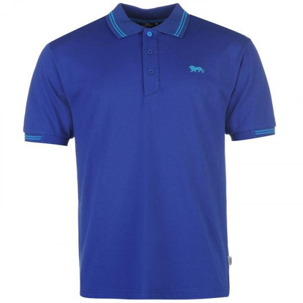 Lonsdale Herren Classic Polo-Shirt royalblau