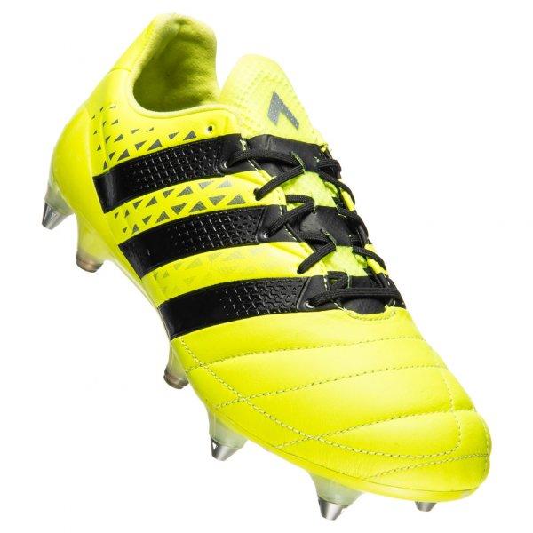 adidas ACE 16.1 SG Leather Herren Leder Fußballschuhe AQ4451