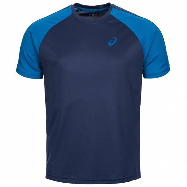ASICS Herren Running Shirt Block Tee 130802-0223 Navy