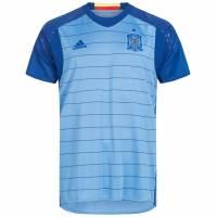 Spanien adidas Herren Heim Torwart Kurzarm Trikot Player Issue AA0838