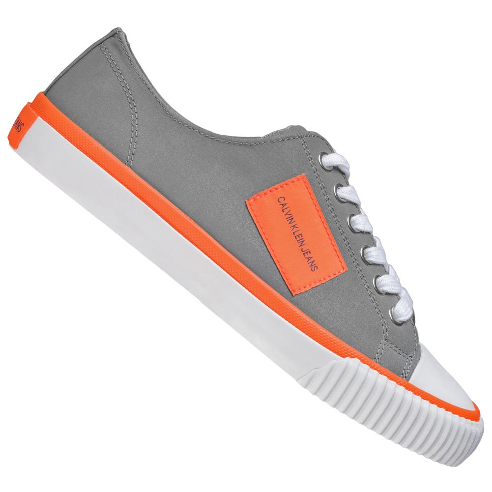 Calvin Klein Jeans Ivory Reflex Damen Reflective Sneaker R0770SLV