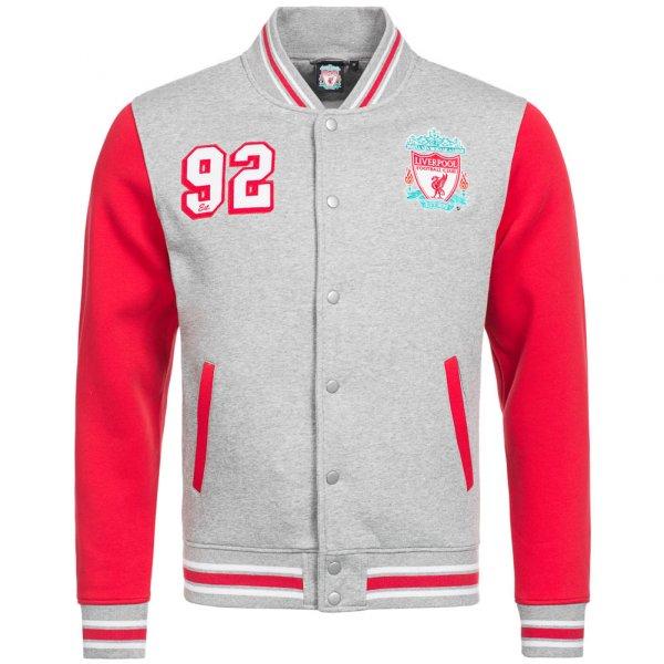Liverpool FC Majestic Herren College Jacke Varsity Jacket MLV1383E2